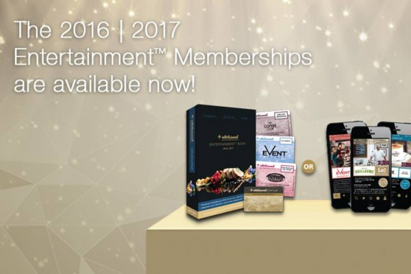 Order your Entertainment Books