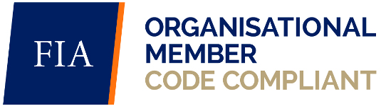 FIA Organisational Member Code Comiant