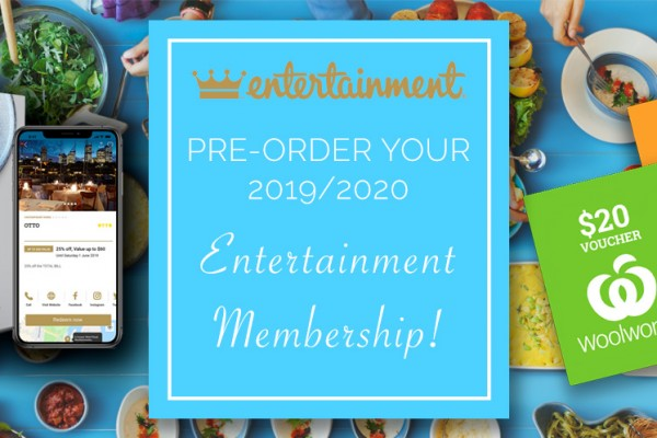 Pre-Order your Entertainment Books